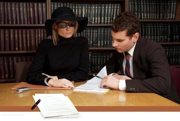 юрист по делам наследства